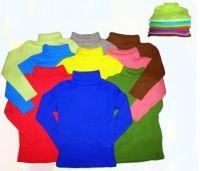 Водолазка детская цветная  ( 1-8лет) №КР790
