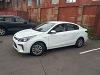 Прокат авто kia rio 2017 года белый