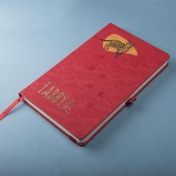 красные бизнес-блокноты TABBY JUSTY