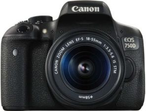 Canon EOS 750D Kit 18-55mm III DC