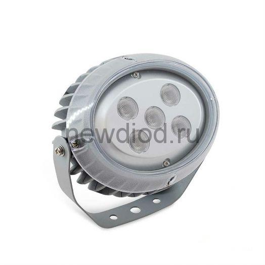 Светодиодный прожектор MS-OP AC220V 15W IP65 угол 30' (Красный)-594lm