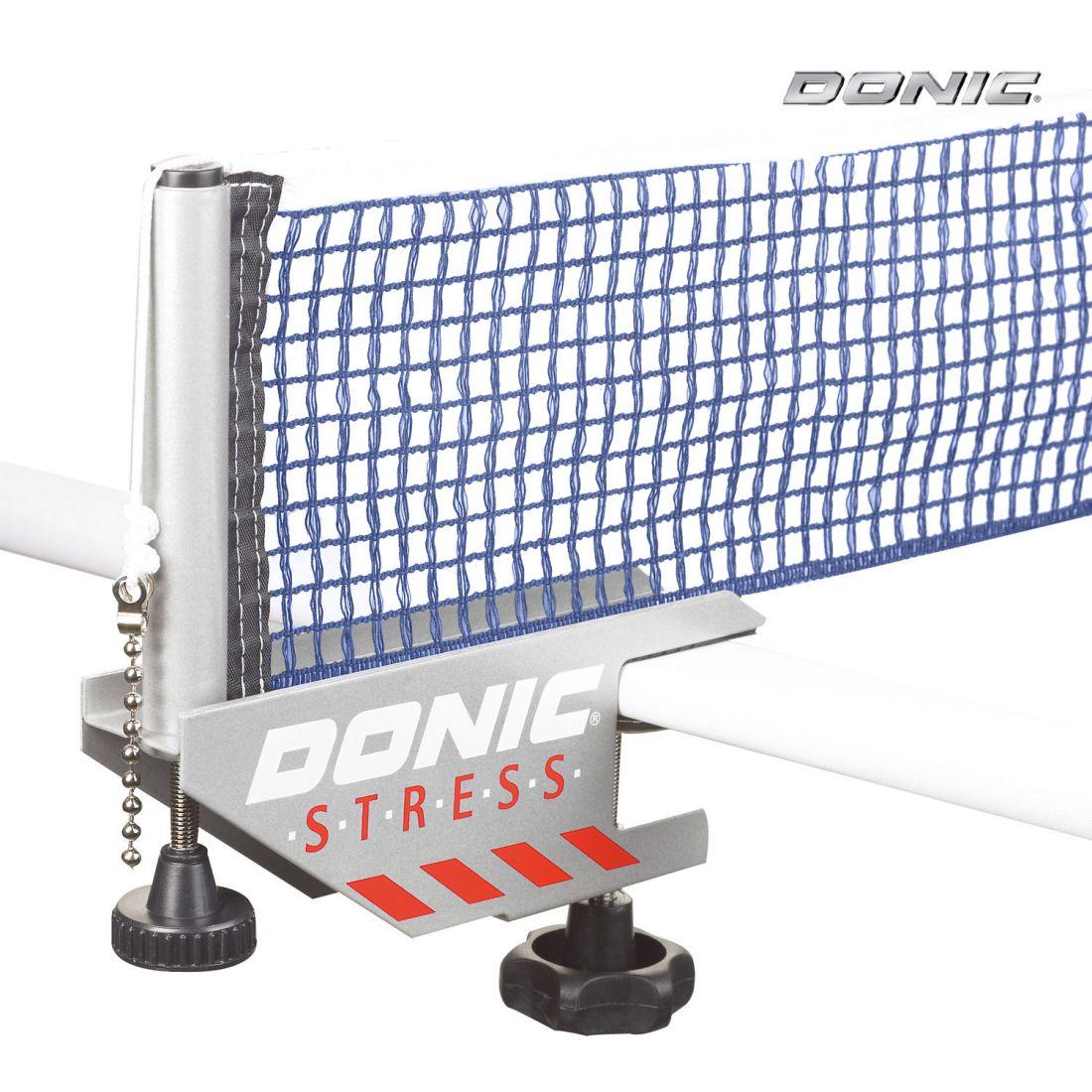 Сетка с креплением Donic STRESS серо-синяя