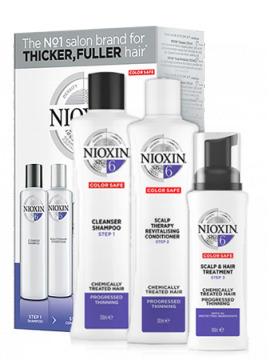 Nioxin 3D System 6 Набор 3-х ступенчатой системы Система 6