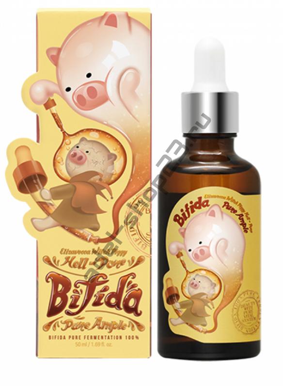 ELIZAVECCA - Bifida Pure Ample 100% Восстанавливающая сыворотка с бифидобактиериями
