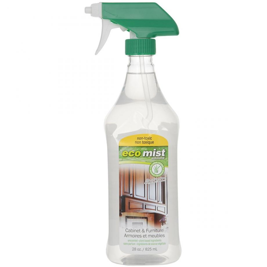 Eco Mist Средство для чистки мебели и уборки в кабинете Cabinet&Furniture, 825 мл