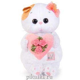 Ли-Ли BABY с розовым сердечком 20см