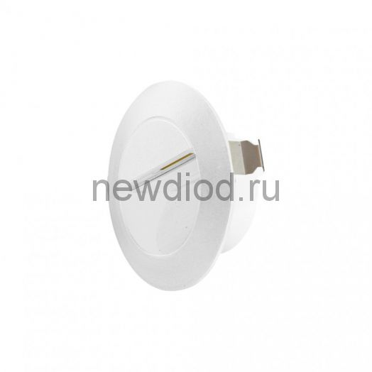 Cветильник светодиодный архитектурный встраиваемый в стену MS-GF-001 3W R-CW-WHITE-IP65