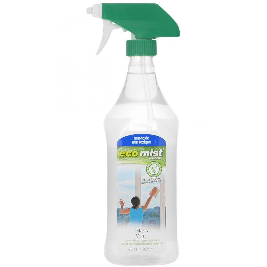 Eco Mist Средство для мытья стекол Glass Cleaner, 825 мл