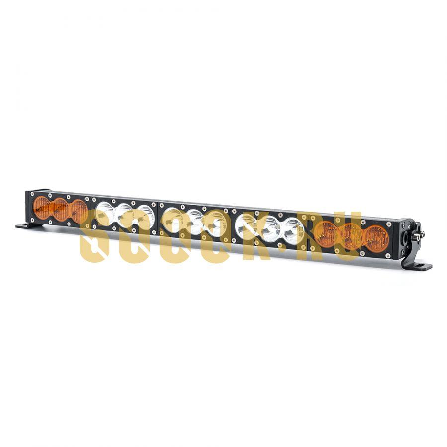 Однорядная светодиодная LED балка 150W Белый/Жёлтый свет