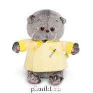 Котик Басик Беби в желтой курточке в китайском стиле