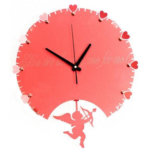 Часы Купидон металл