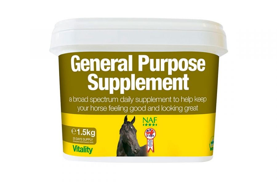 NAF General Purpose. Подкормка с клетчаткой, витаминами и минералами. 1,5 и 3 кг