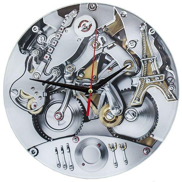 Часы настенные Механизм стекло