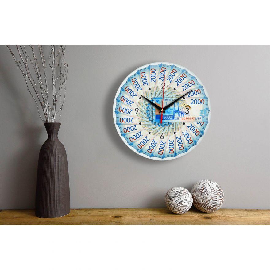 Часы настенные 2000 руб стеклянные