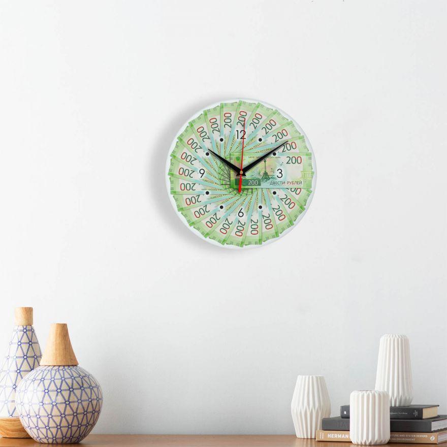 Часы настенные 200 руб стеклянные