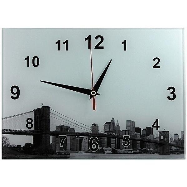 Часы Мост 20х28 стеклянные