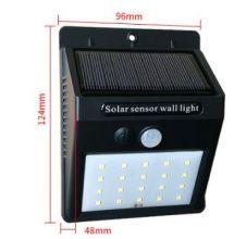 Уличный фонарь для подсветки на солнечных батареях