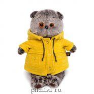 "Басик в желтой куртке ""B&Co"" 25 см"