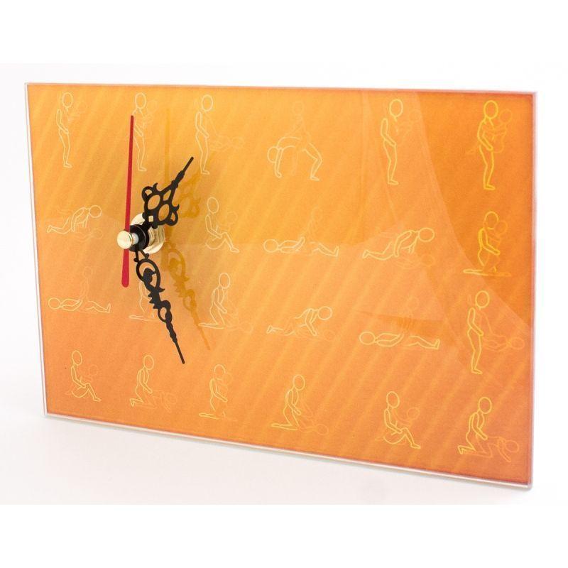 Часы настольные Камасутра стекло