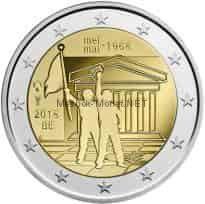 Бельгия 2 евро 2018 Студенческое восстание
