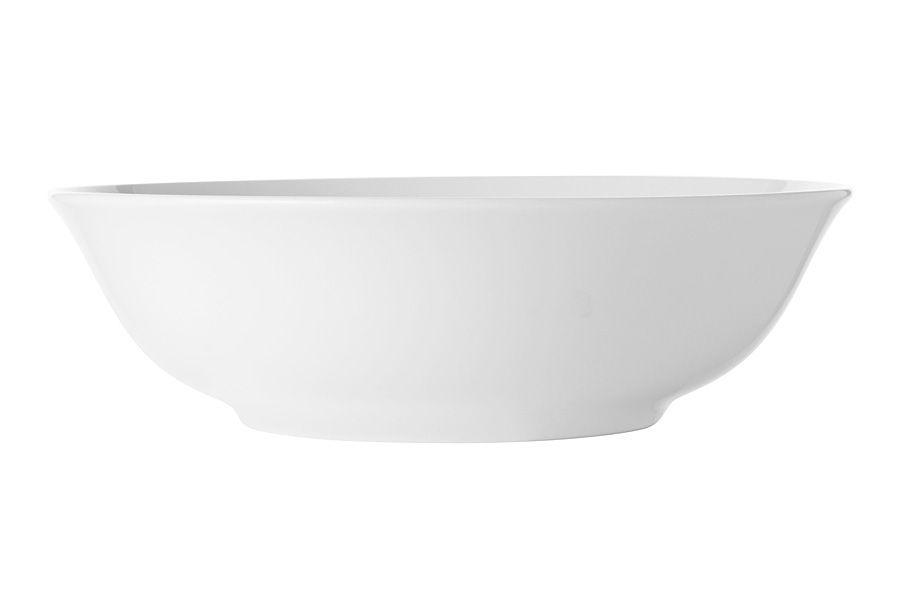 """Тарелка суповая/для пасты """"Белая коллекция"""", 20 см, без упак."""