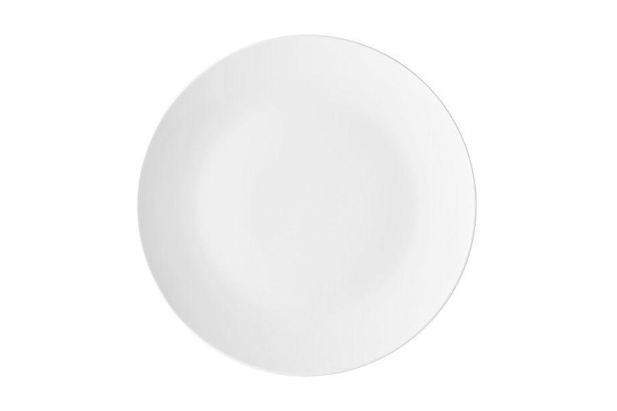 """Тарелка закусочная """"Белая коллекция"""", 19 см, без упак."""
