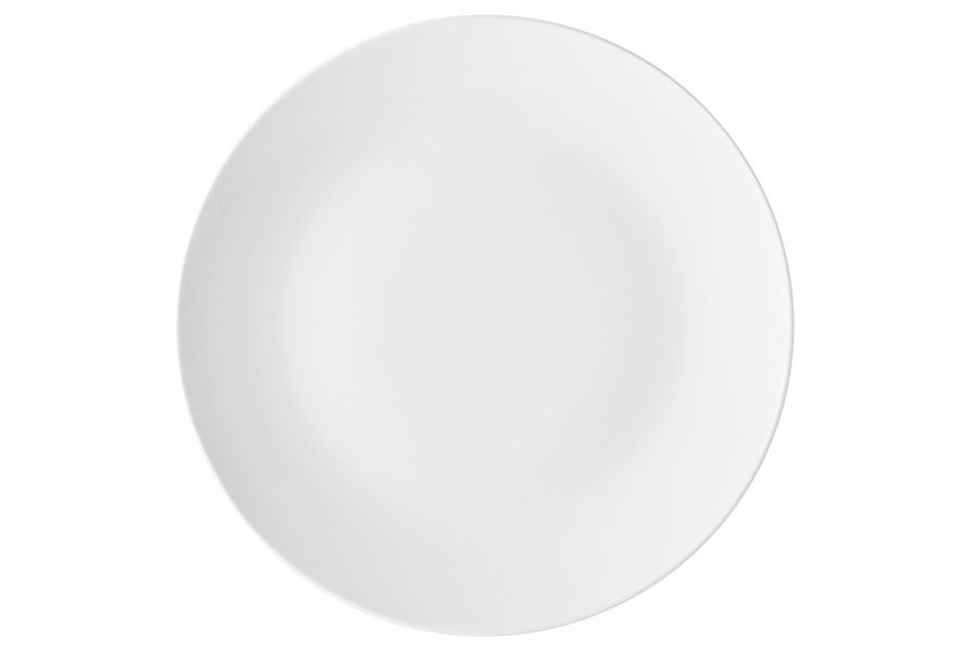 """Тарелка обеденная """"Белая коллекция"""", 27.5 см, без упак."""