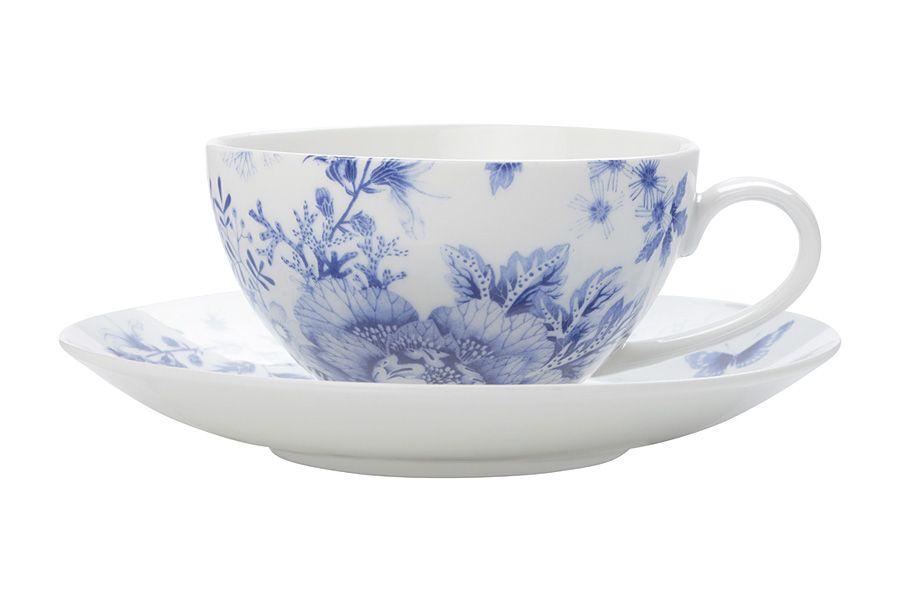"""Чашка с блюдцем """"Цветочная поляна"""", 0.25 л, подар. упак."""