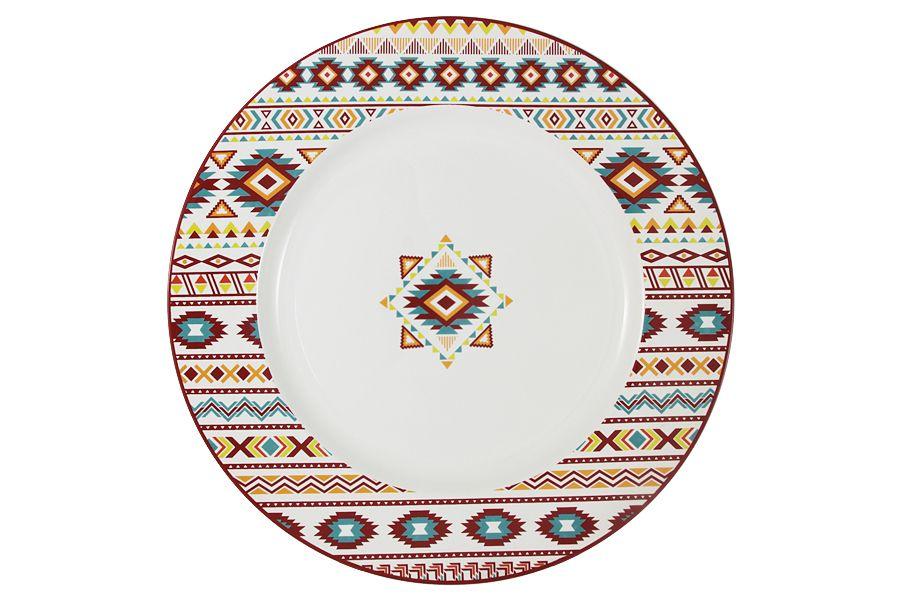 """Тарелка обеденная """"Ацтека"""", 25 см"""