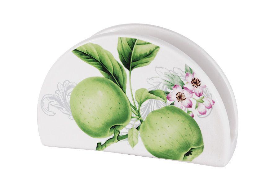 """Салфетница """"Зеленые яблоки"""", 16 см"""