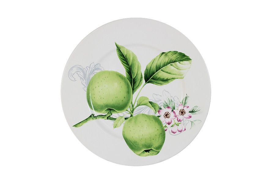 """Тарелка """"Зеленые яблоки"""", 23 см"""