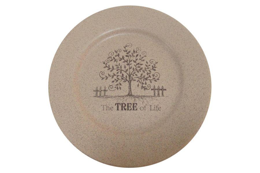 "Обеденная тарелка ""Дерево жизни"", 26 см"