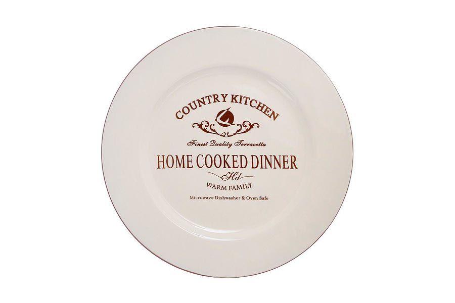 """Закусочная тарелка """"Кухня в стиле Кантри"""", 21 см"""