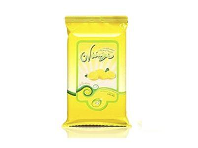 Влажн.салф.VISAGE освежающие с ароматом лимона (15шт)*48