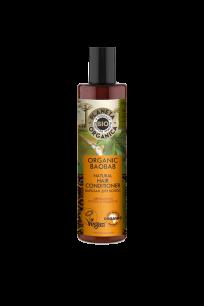 """""""PO"""" Organic baobab Бальзам для волос натуральный, 280 мл."""
