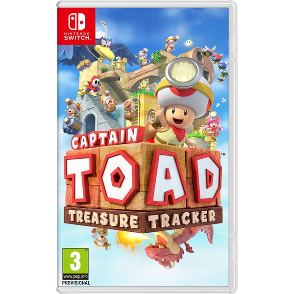 Игра Captain Toad Treasure Tracker (Nintendo Switch)