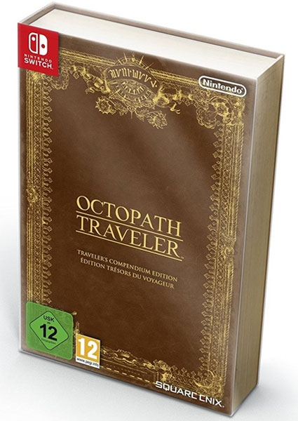 Игра Octopath Traveler : Traveler's Compendium Edition (Nintendo Switch)