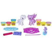 Игровой набор Play-Doh Твайлайт и Рарити купить в москве