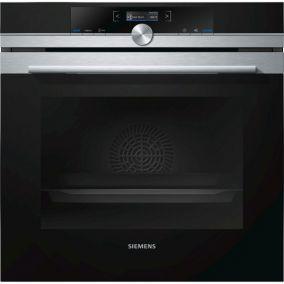 Духовой шкаф с микроволновой печью Siemens HM633GNS1