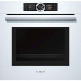 Духовой шкаф с микроволновой печью Bosch HMG656RW1