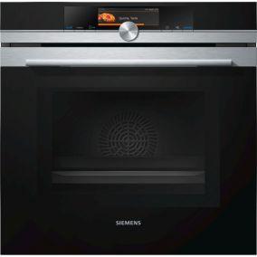 Духовой шкаф с функцией СВЧ Siemens HM678G4S1F