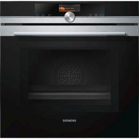 Духовой шкаф с микроволновой печью Siemens HM636GNS1