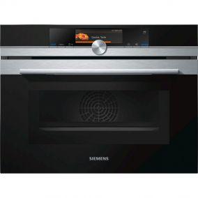 Духовой шкаф с функцией СВЧ Siemens CN678G4S1