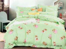 Комплект постельного белья Сатин для новорожденных детей Арт.55/034-sb