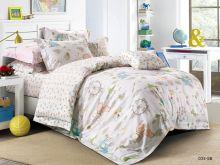 Комплект постельного белья Сатин для новорожденных детей Арт.55/035-sb