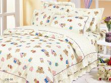 Комплект постельного белья Сатин для новорожденных детей Арт.55/038-sb