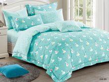Комплект постельного белья Сатин для новорожденных детей Арт.55/040-sb