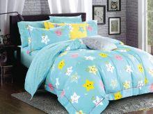 Комплект постельного белья Сатин для новорожденных детей Арт.55/042-sb