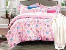 Комплект постельного белья Сатин для новорожденных детей Арт.55/045-sb
