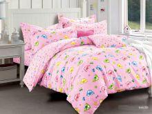 Комплект постельного белья Сатин для новорожденных детей Арт.55/046-sb